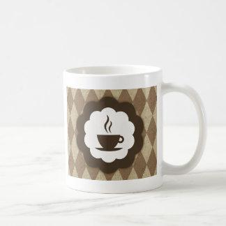 vintage do café caneca de café