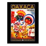 Vintage dos cumprimentos de México do cartão Cartoes Postais
