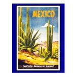 Vintage dos cumprimentos de México do cartão Cartao Postal