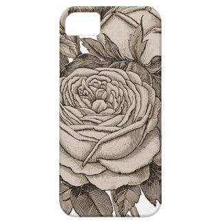 Vintage floral capas para iPhone 5
