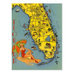 Vintage Florida, EUA - Cartões Postais