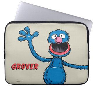 Vintage Grover Bolsa E Capa De Notebook
