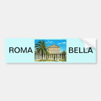 Vintage Italia, Roma, les mura do fuori de S Paulo Adesivo Para Carro
