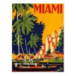 Vintage Miami, Florida, EUA - Cartão Postal