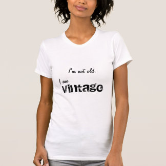 Vintage, nao velho tshirts