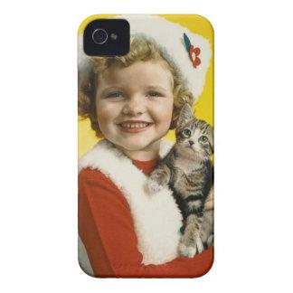 Vintage: Natal - Capas Para iPhone 4 Case-Mate