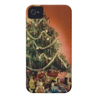 Vintage: Natal - Capinha iPhone 4