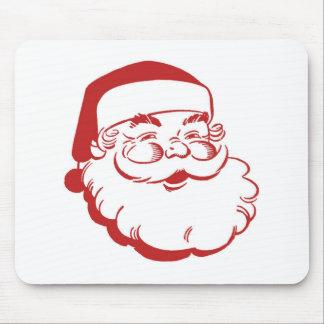 Vintage Papai Noel Mouse Pad