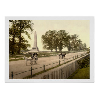 Vintage parque Dublin de Ireland, Phoenix Poster