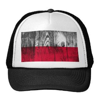 Vintage Polónia bandeira Nacional Cap Boné