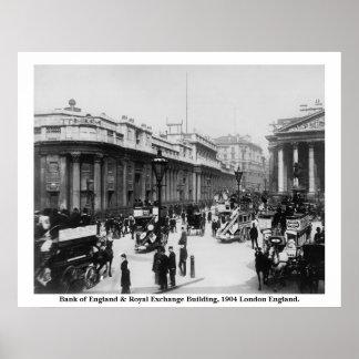 Vintage poster real de Inglaterra, Londres da troc