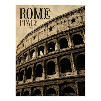 vintage Roma Italia Cartão Postal