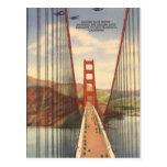 Vintage San Francisco, EUA - Cartão Postal