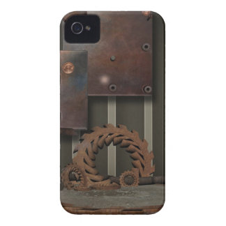 Vintage SteamPunk Blackberry 9700-9800 corajoso Capa iPhone 4 Case-Mate