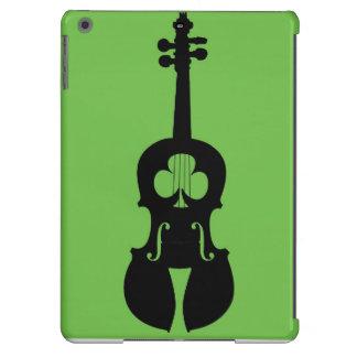Violino irlandês do caso do ipad do violino capa para iPad air