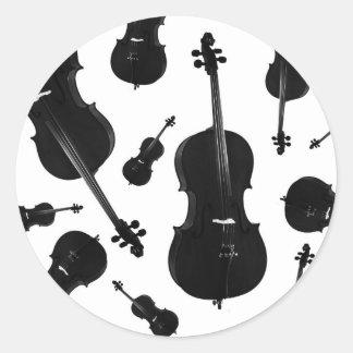 violoncelo adesivo