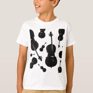 violoncelo camiseta