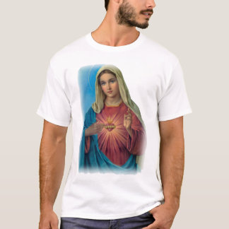 Virgem Maria abençoada Camiseta