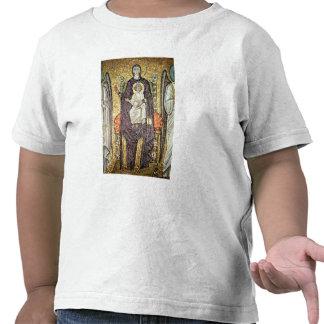 Virgin e criança tshirt
