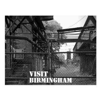 Visita Birmingham Cartão Postal