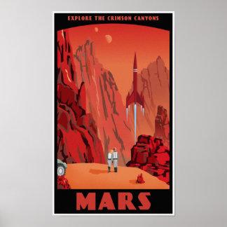 Visita Marte Posteres