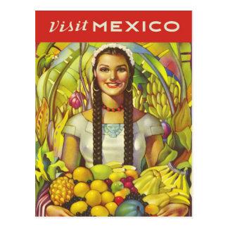Visita México Cartão Postal