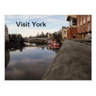 Visita York Cartão Postal