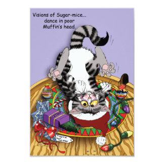 Visões de ratos do açúcar convite 8.89 x 12.7cm