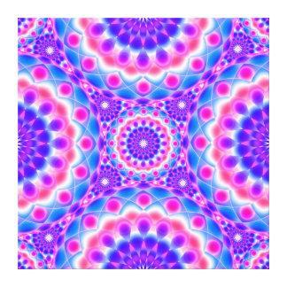 Visões psicadélicos da mandala das canvas