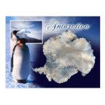 Vista aérea da Antártica