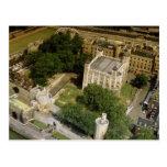 Vista aérea da torre de Londres, Inglaterra, Reino Cartão Postal