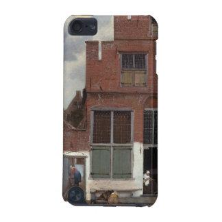 Vista das casas em Delft por Johannes Vermeer Capa Para iPod Touch 5G