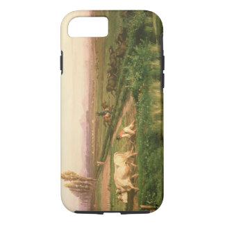 Vista de Carditello (óleo em canvas) Capa iPhone 8/7