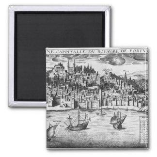 Vista de Lisboa Imãs De Geladeira