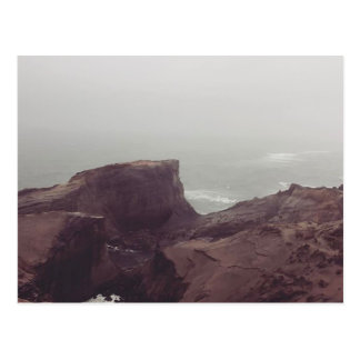 vista de um monte litoral cartão postal