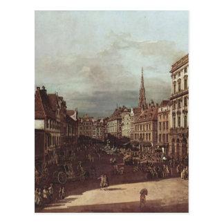 Vista de Viena, mercado da farinha do sudoeste Cartão Postal