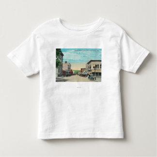 Vista ocidental da avenida de Sherman T-shirts