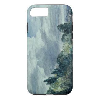 Vista sobre uma paisagem larga, com as árvores na capa iPhone 8/7