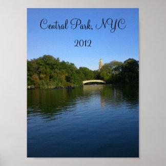 Vistas do Central Park 2012 - 2 Pôster