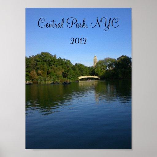 Vistas do Central Park 2012 - 2 Posteres