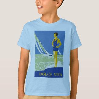 Vita de Dolce, verão do beira-mar do estilo do Camiseta