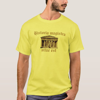 Vitae est do magistra de Historia Camisetas