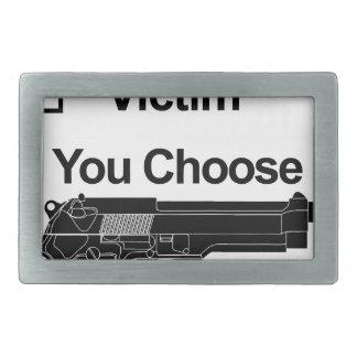 vítima que do proprietário de arma você escolhe