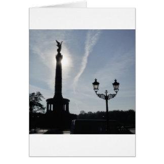 Vitória-Coluna, Berlim Cartão