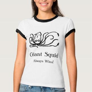 Vitórias do calamar gigante sempre t-shirt