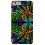 Vitral floral abstrato 1 capa iPhone 6 plus barely there