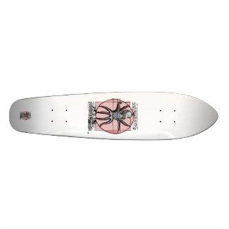 Vitruvian Cthulhu. Shape De Skate 21,6cm