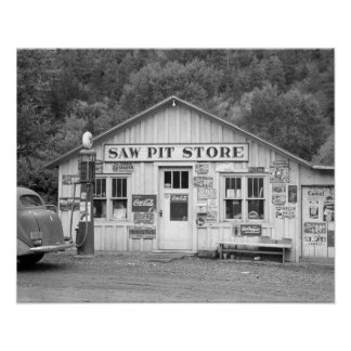 Viu a loja do poço, 1940 poster