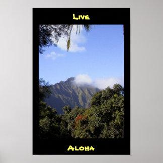Viva Aloha Impressão