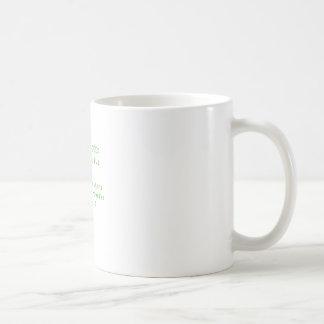Viva ao geek caneca de café